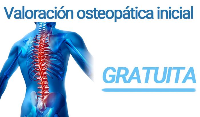 Valoración osteopatía gratuita
